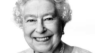 This portrait of Queen Elizabeth II by the renowned British photographer David Bailey CBE released to mark her 88th birthday on Monday.