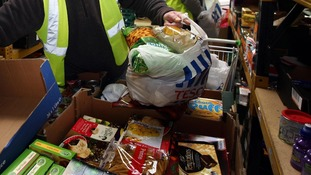 Food bank charity sees huge surge in donations after Mail on Sunday article