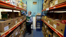 Food bank donations soar by £35,000 after Mail article