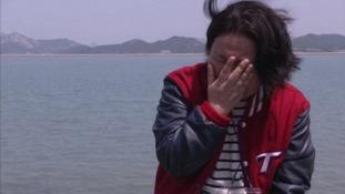 Im Seon-mi, mother of missing daughter Park Hye-seon.