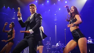 Controversial Robin Thicke Blurred Lines most downloaded track in UK music history