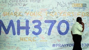 MH370 messages of support.
