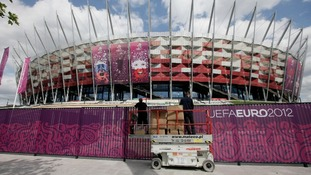 Euro 2012 National Stadium in Warsaw, Poland