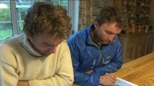 Hugo and Ross Turner will trek 340 miles across Greenland.