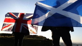 Independence pleas from both sides on St George's Day