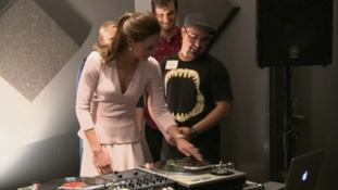 Kate takes to the decks in Adelaide.