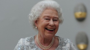 The Queen pictured in her Diamond Jubilee year