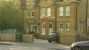 The house in New Malden, south London.