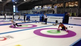 World Curling Champs leaves Dumfries