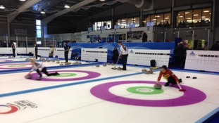Curling teams from around the world meet in Dumfries