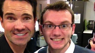 Stephen meeting Jimmy Carr