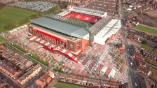 Liverpool FC unveil plans for the new-look Anfield
