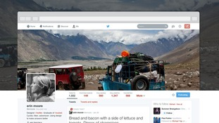 Twitter has begun rolling out the new look profile.