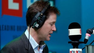 Deputy prime minister Nick Clegg has lent his support to sacked Manchester United manager David Moyes