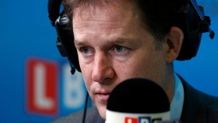 "Deputy Prime Minister Nick Clegg said Britain has ""an important Christian identity"", but supported separate church and state"