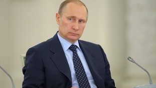 Russian President Vladimir Putin has warned Ukraine against using the army on its own population