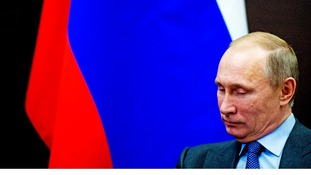 Russian President Vladimir Putin has said sanctions imposed following Crimea's annexation are not critical