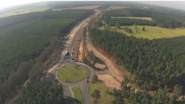 Long-awaited A11 bypass partially opened