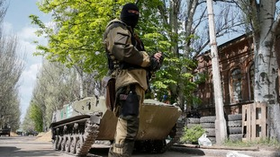 Ukrainian and separatist forces have clashed in the East of the country