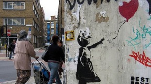 Collection of Banksy artwork to be auctioned in London
