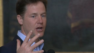 Nick Clegg was in Colchester today.