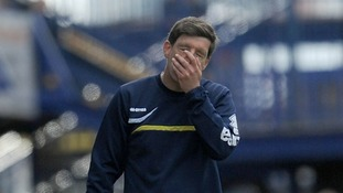 Bristol Rovers manager Darrell Clarke knows his team is under pressure.