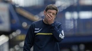 Bristol Rovers manager Darrell Clarke knows his team is under pressure.
