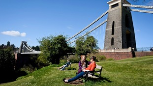 As well as its bridges Bristol is famous for its 'green' ethos.