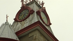 Cornwall town clock