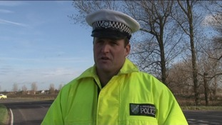 Former Lincolnshire Police sergeant Craig Dunderdale speaking to ITV news in 2009