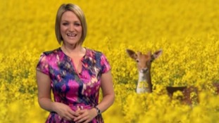 ITV weather update