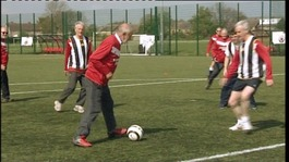 A new twist on football for the over 50s