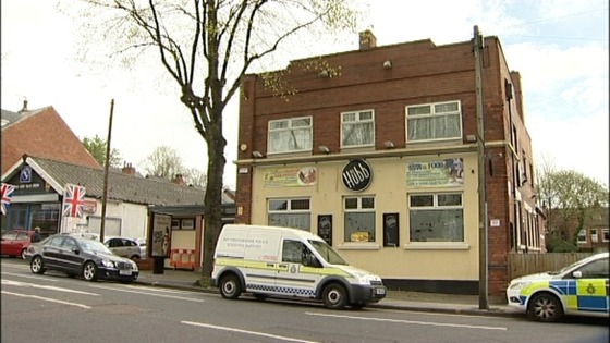 The Hubb pub in Sherwood in Nottinghamshire where the shooting took place