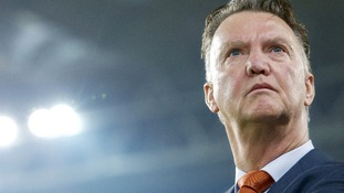 Holland coach Louis van Gaal has been heavily tipped as Manchester United's new manager