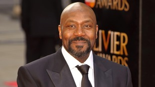 Actor and comedian Lenny Henry.