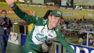 Olympic medallist Chris Boardman