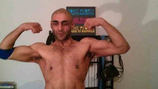 Asad Begg after losing 15 stone