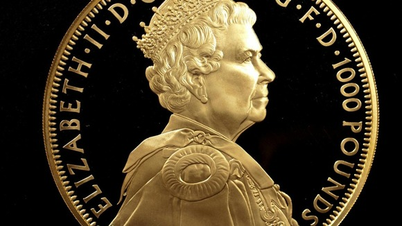 The Royal Mint's first ever UK gold Kilo Coin. Only 60 of this type of coin have ever been struck