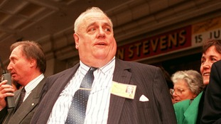 Cyril Smith pictured in 1990