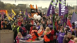 Unison protests