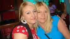 Michala Gol and her mother Julie Sahin