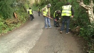 The former offenders tackling Cornwall's flooding