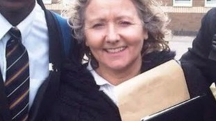 Teacher Ann Maguire was fatally stabbed at Corpus Christi college in Leeds this morning