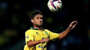 Andrew Surman in action for Norwich City.