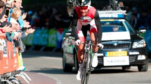 Canadian, Svein Tuft, took the 2013 'Lanterne Rouge'