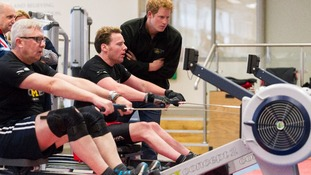 Harry meets would-be Invictus Games athletes