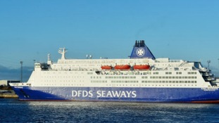 The DFDS route will close later this year.