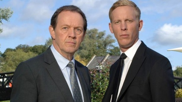 Kevin Whately and Laurence Fox