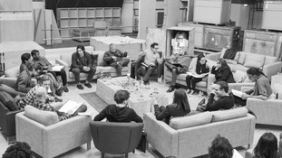 The new Star Wars cast at a read-through today