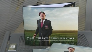 The book is titled the 'Last of the Liberators'.